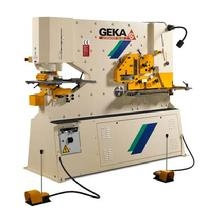 Geka Ironworkers 40 ton to 240 ton punching power