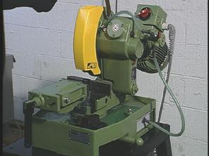"Haberle 10"" Cold Saw Machine"