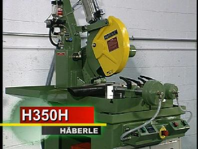 "14"" semi automatic metal cutting coldsaw Haberle H350H"