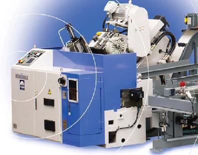 Replace 3 to 4 production saws with a single Nishijimax machine.