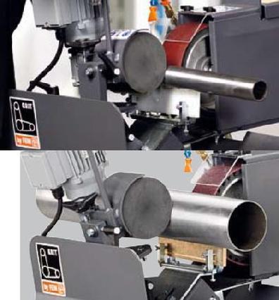 Tube Amp Pipe Notching Cylindrical Tube Polishing